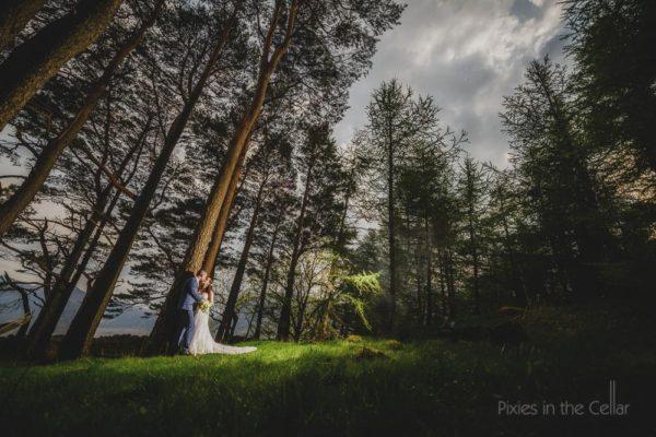 New House Farm Wedding Photography woodland