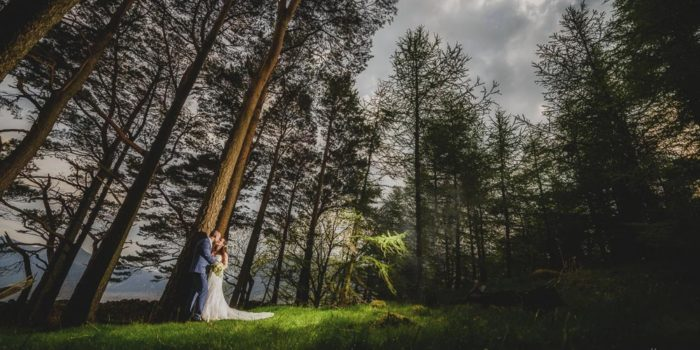 New House Farm Wedding Photography woodland