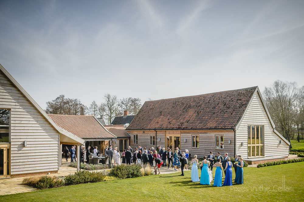 Easton Grange Barn wedding