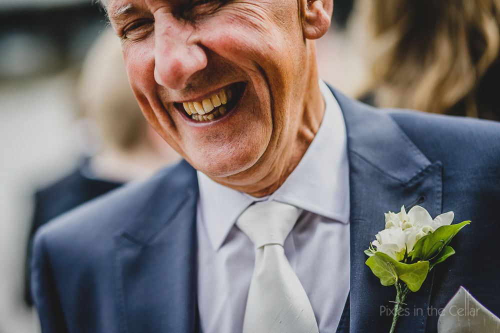 wedding smiles