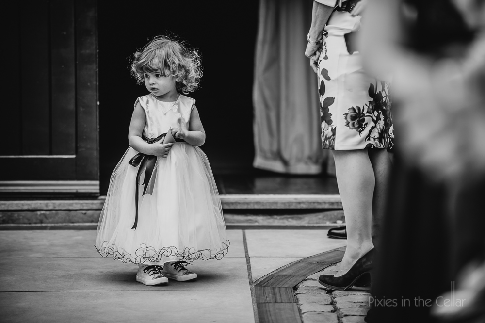 flowergirl and converse