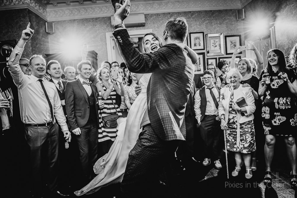 eclectic hotel manchester wedding first dance