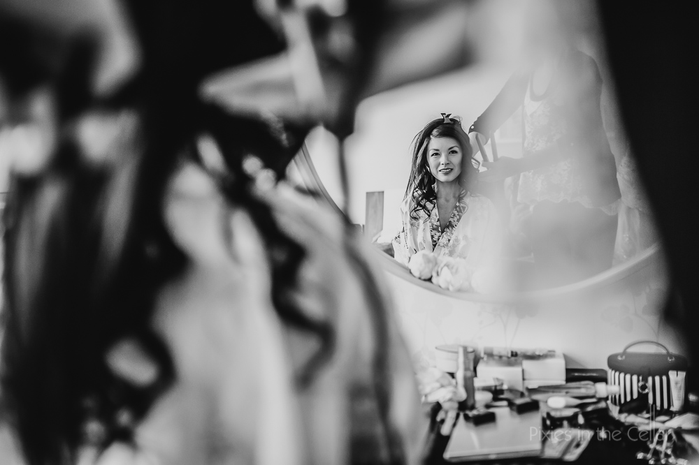 bridal prep yorkshire wedding photography