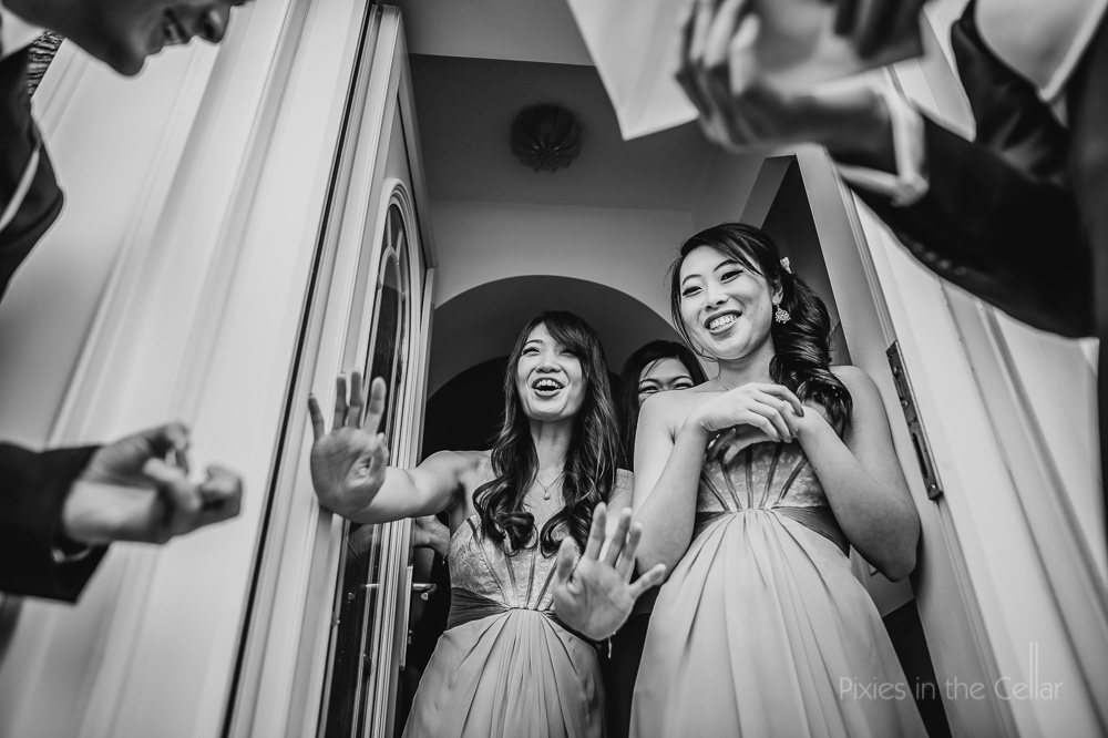 chinese wedding door games