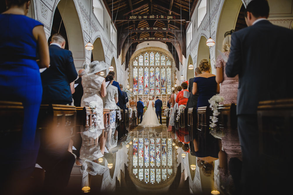 Windermere lake district church wedding