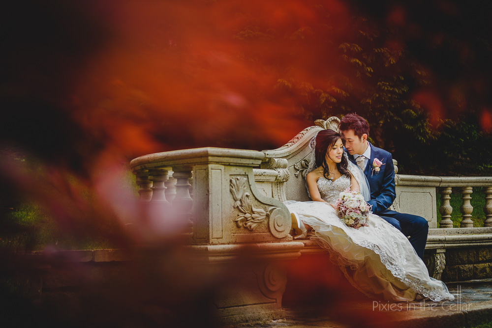 Chinese wedding photography at The saddleworth hotel