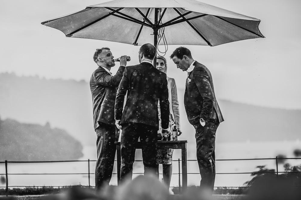 Laura Ashley Belsfield Hotel wedding photography rain