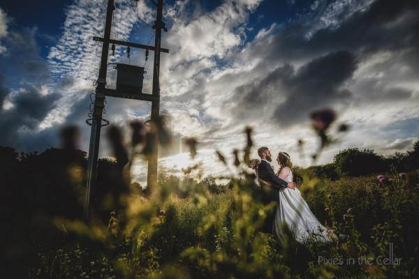 Manchester rustic wedding