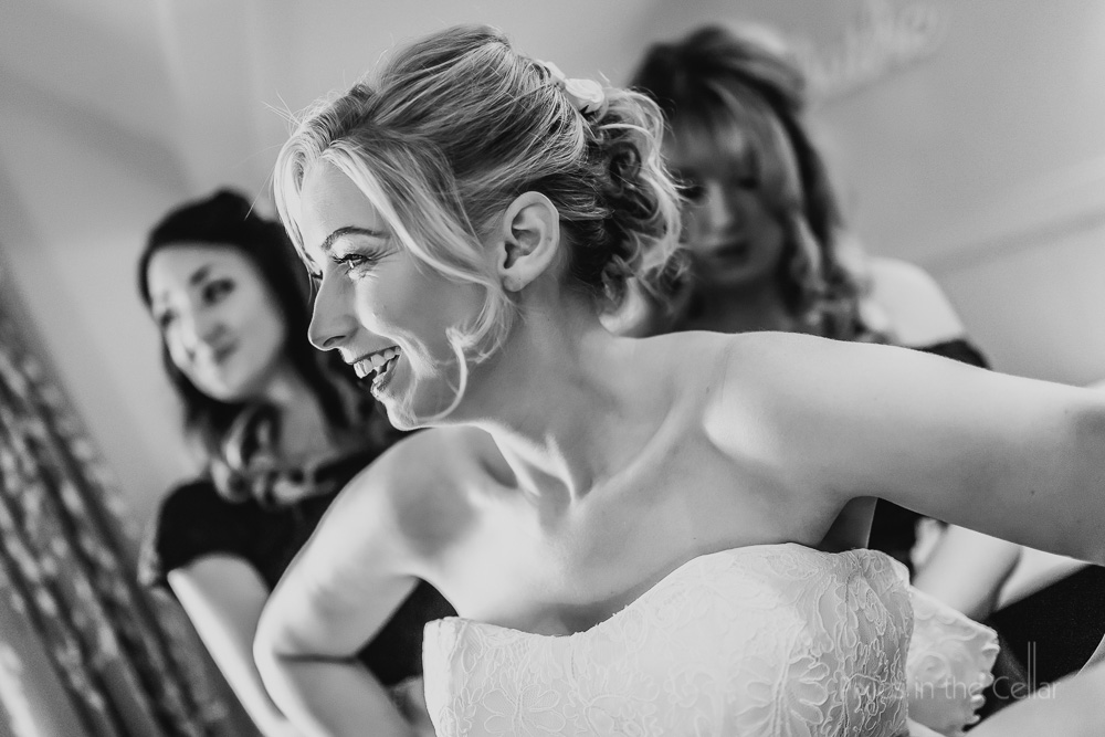 bridal prep Manchester wedding photographer