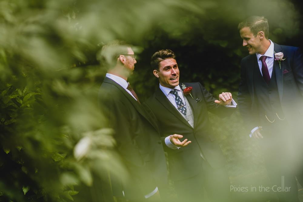 groom and groomsmen Manchester wedding