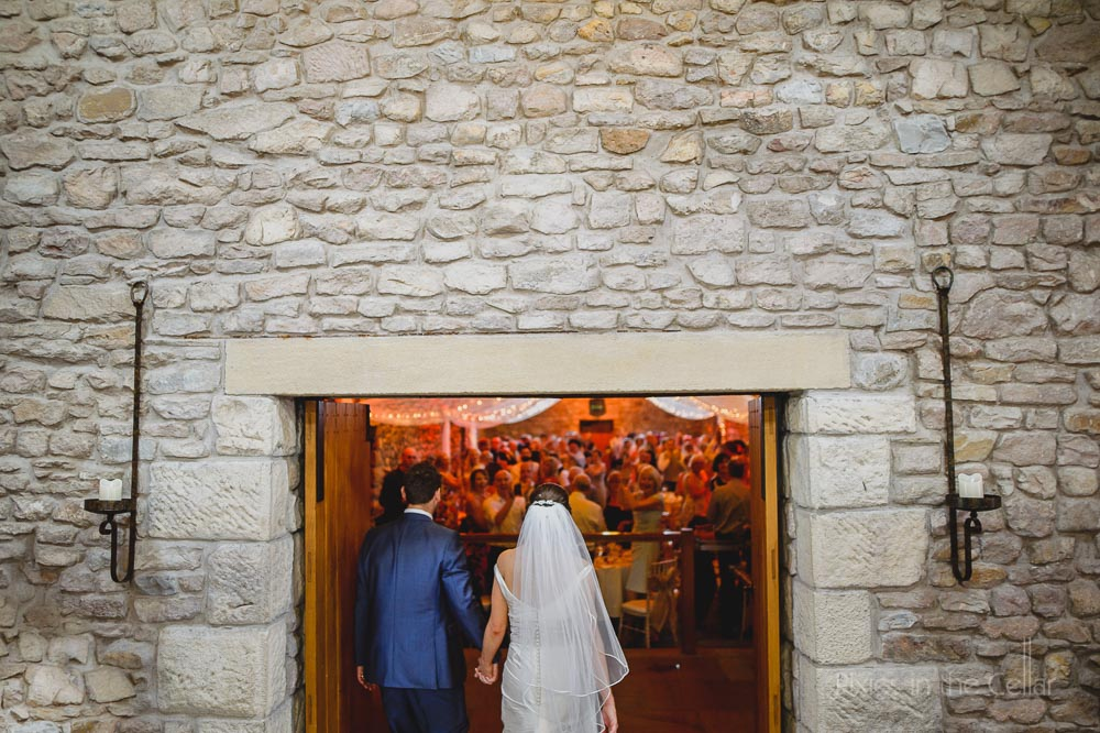 tithe barn wedding reception