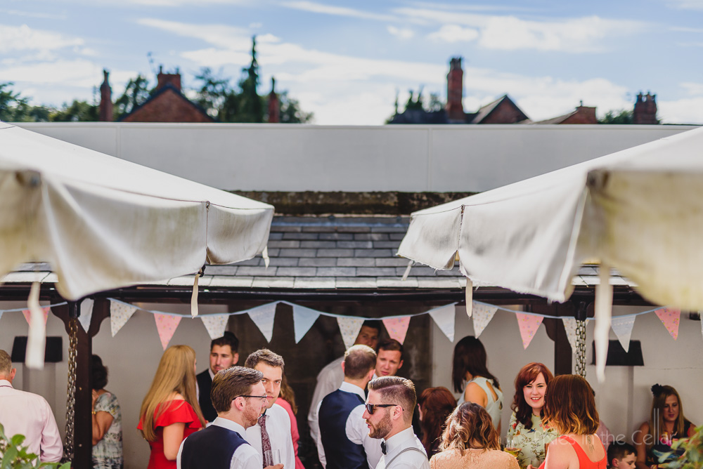 eclectic hotels manchester summer wedding reception