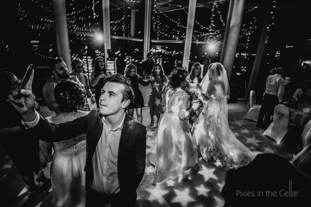 dance floor selfies