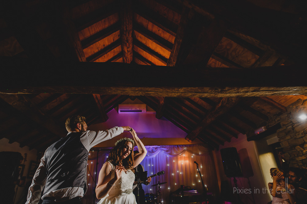 hyde bank farm wedding first dance
