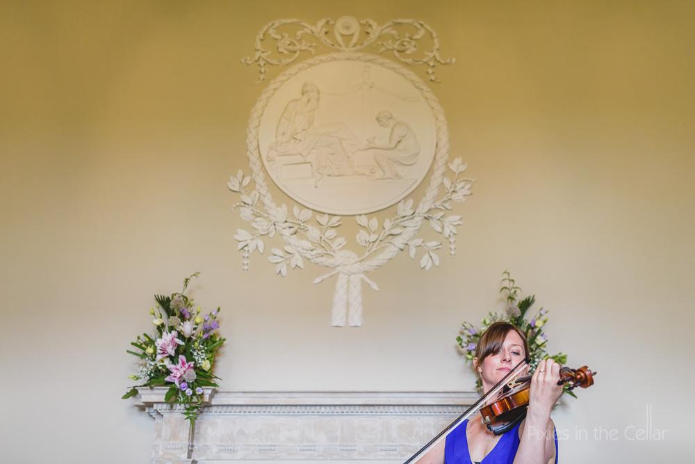 classic wedding violinist