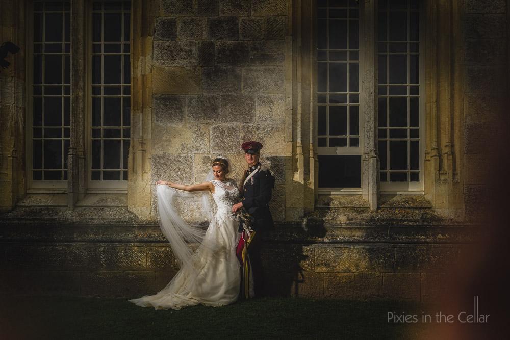 military wedding photos
