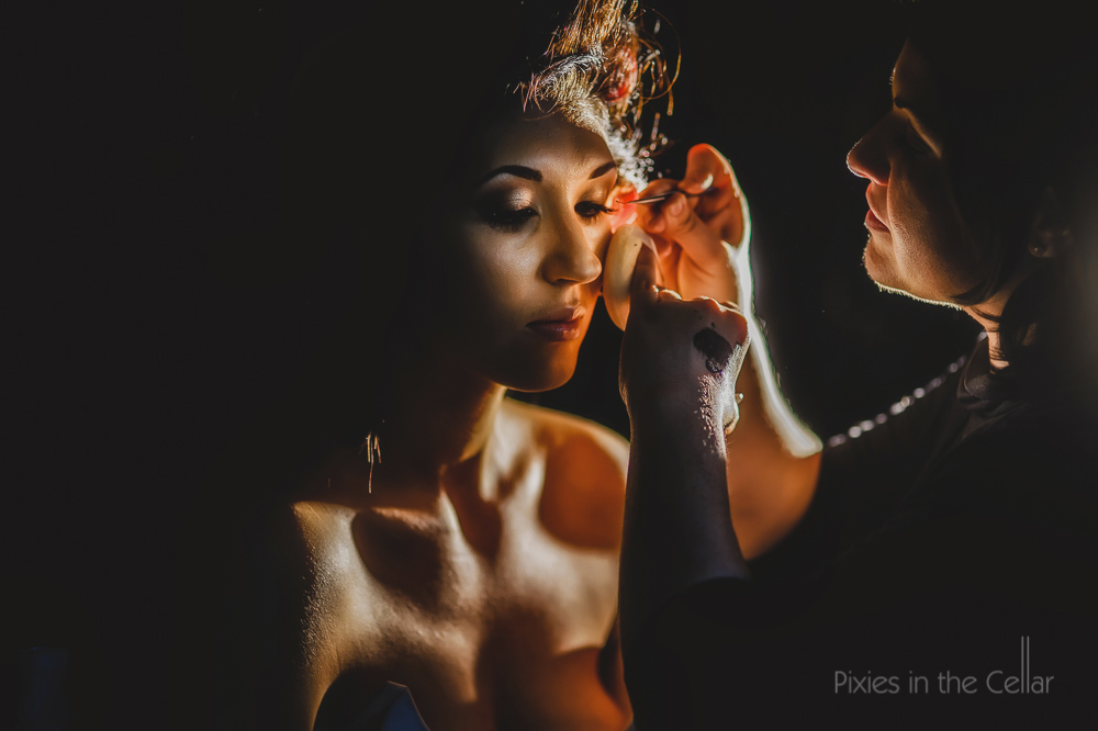 flossy and leigh MUA and bride