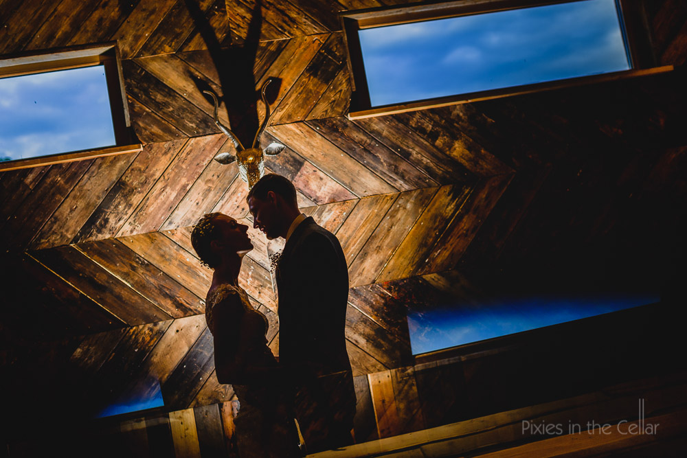 cheshire barn wedding photography silhouettes 2016
