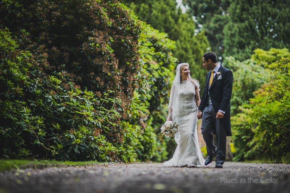 summer wedding photo