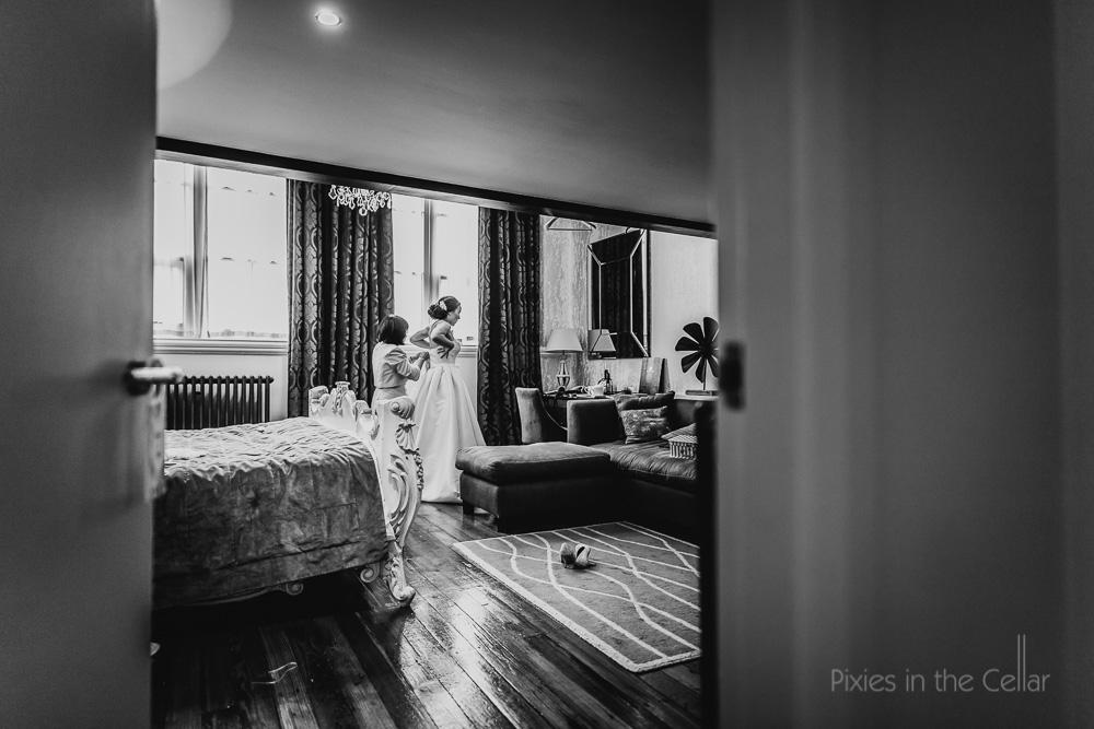 bridal preparations at GJS Manchester