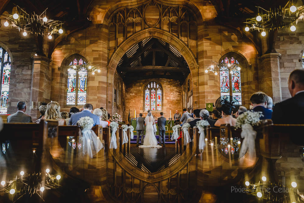 Lancashire church wedding photography