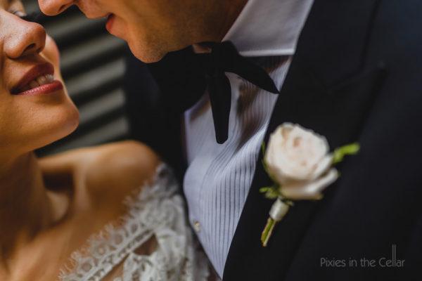 Manchester city centre wedding photography close up