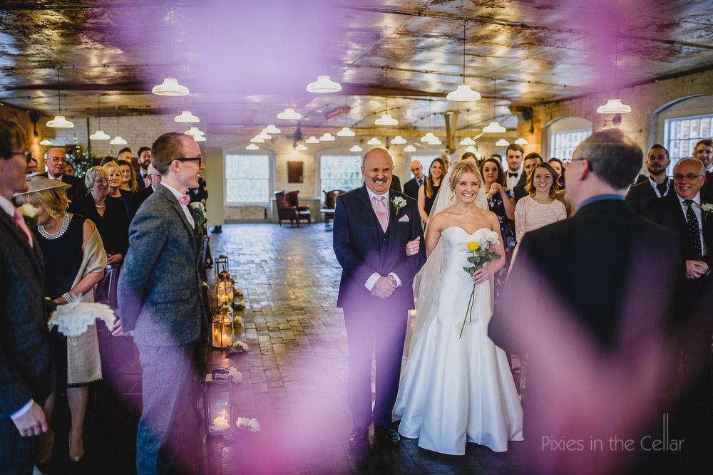 west mill wedding ceremony