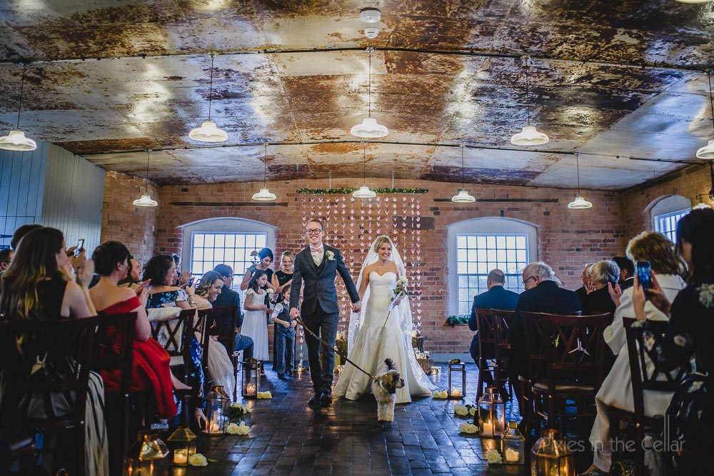 wedding ceremony with dog uk