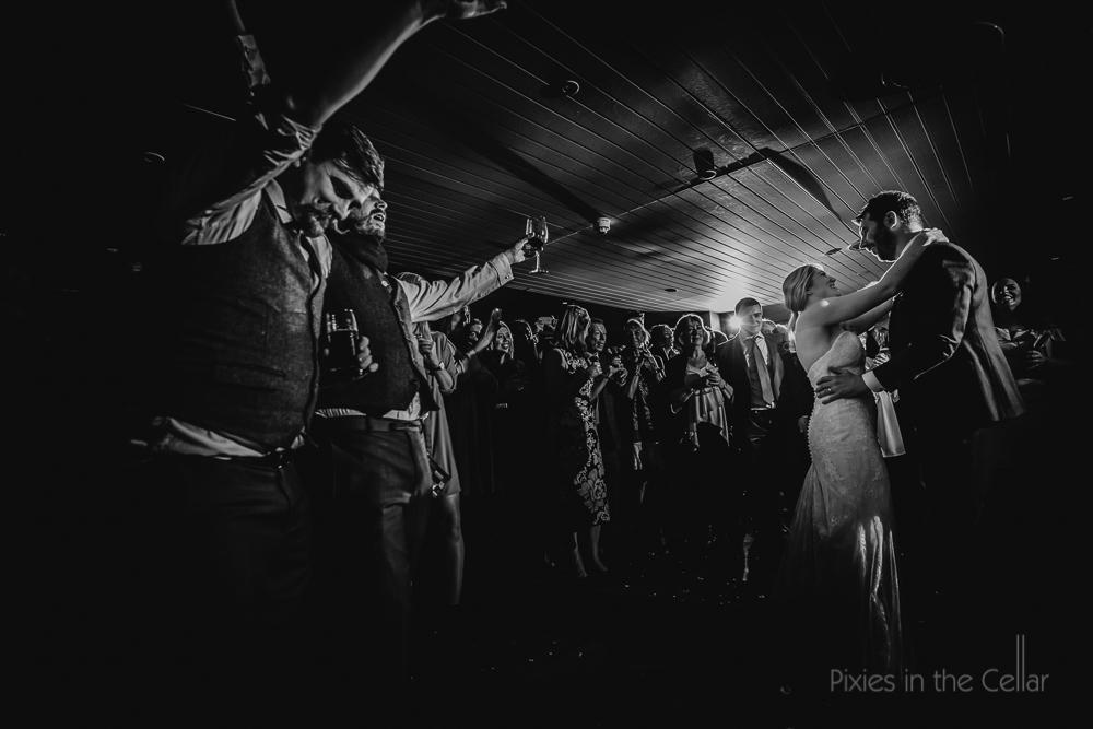 king street townhouse wedding first dance