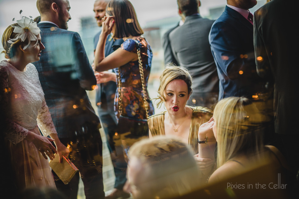 eclectic hotels wedding reception