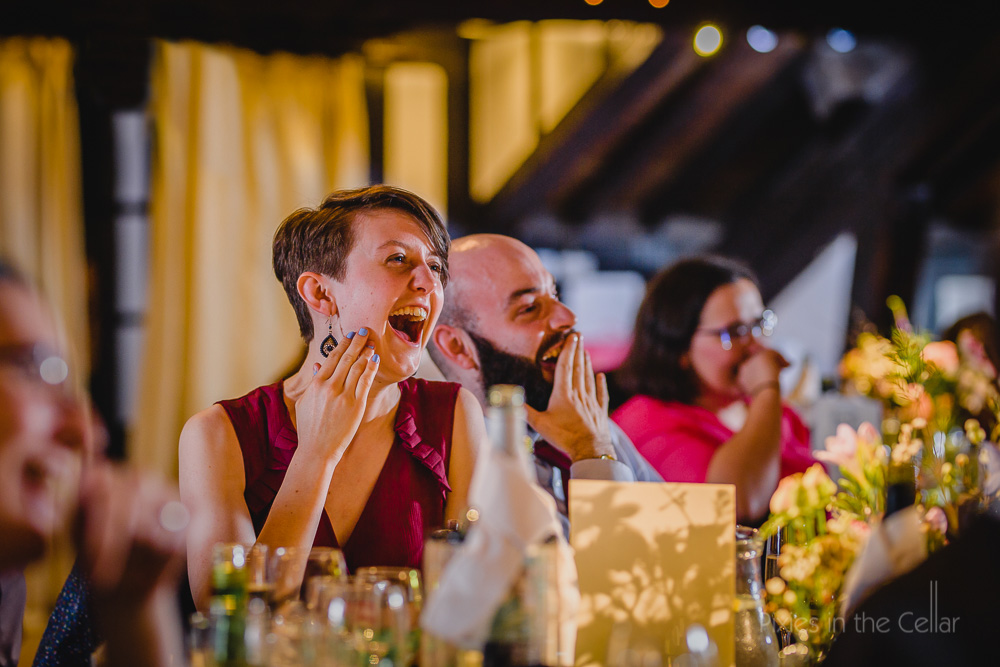 wedding guests speeches