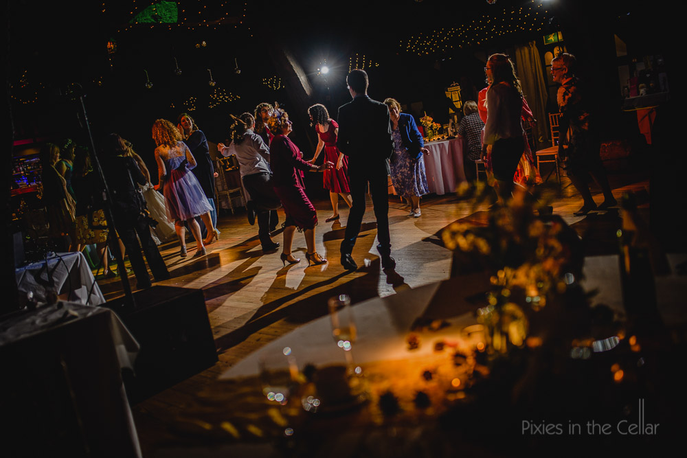 Rivington Hall Barn Wedding party
