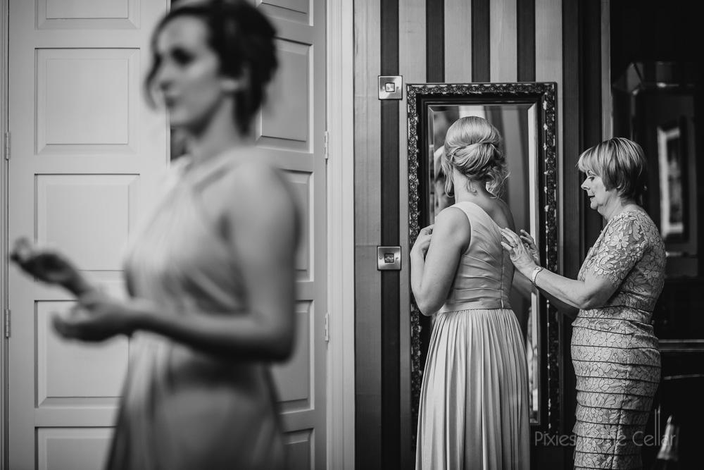 finishing touches wedding prep