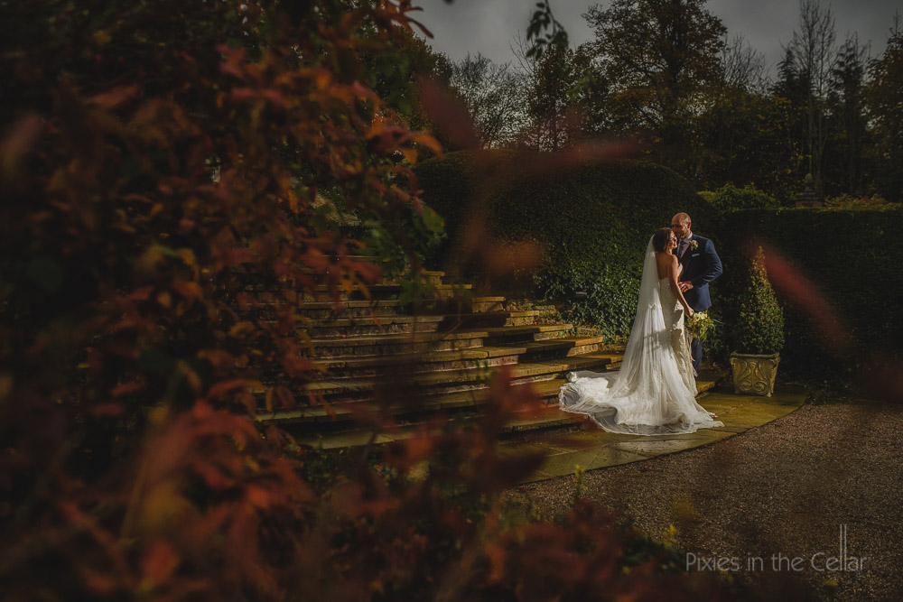 Eaves Hall Autumn Wedding Photography Lancashire