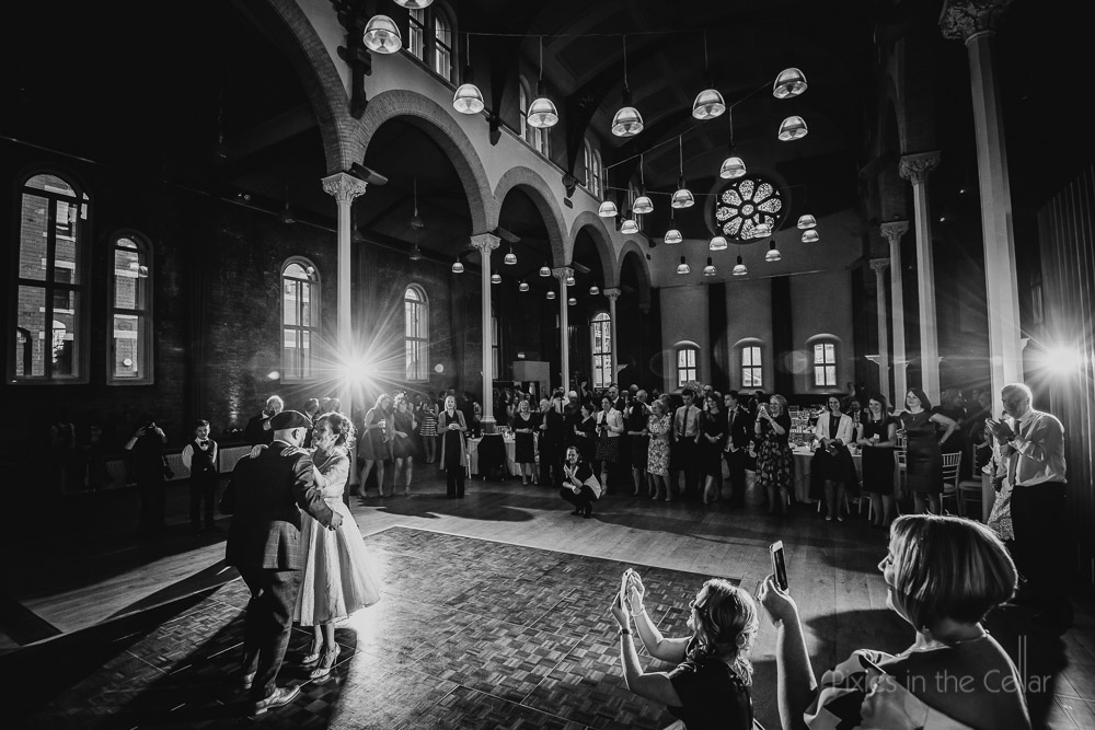Halle St.Peter's wedding first dance Manchester