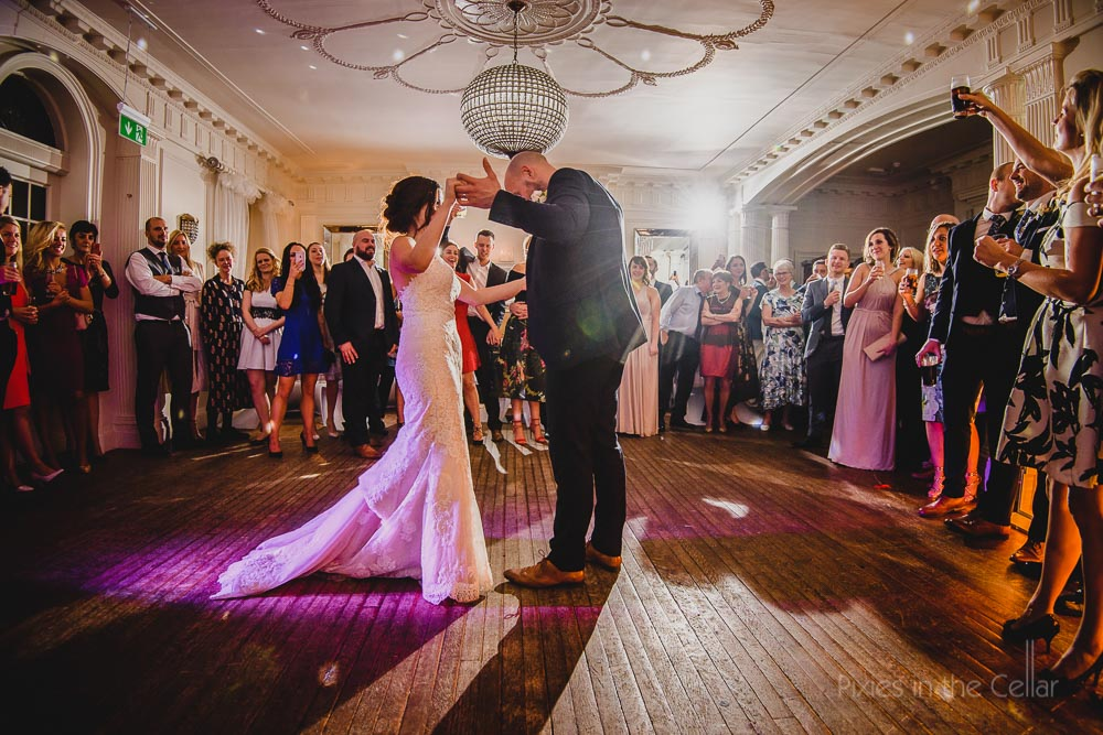 First dance Eaves Hall