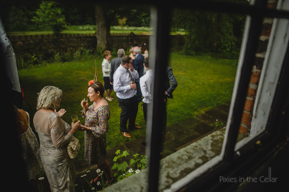 wedding guests Thwaite mills leeds