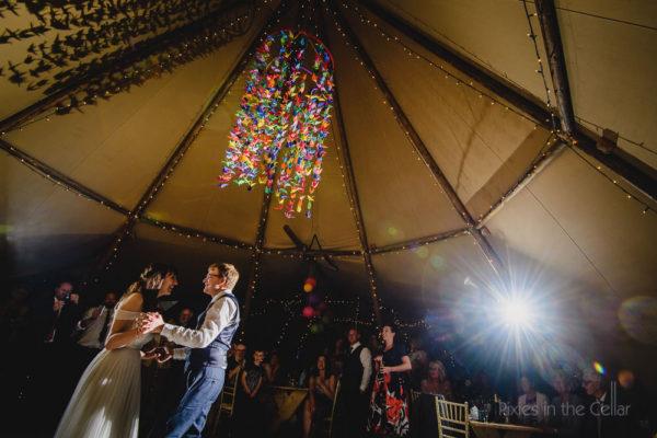 Tipi wedding photography yorkshire