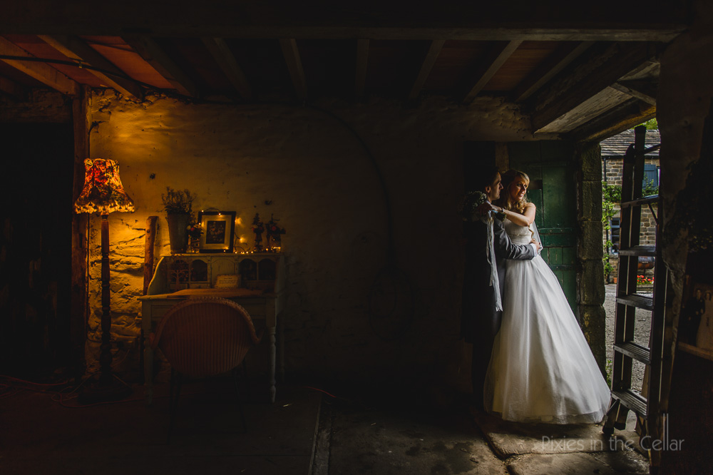Edale Gathering wedding photography rustic barn