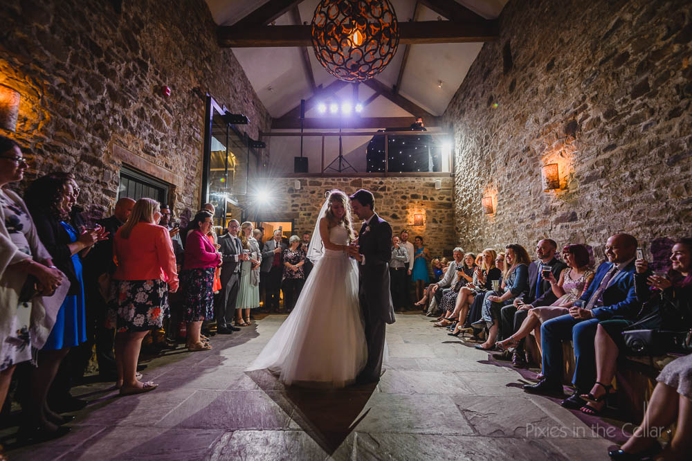 Edale Gathering wedding photography first dance