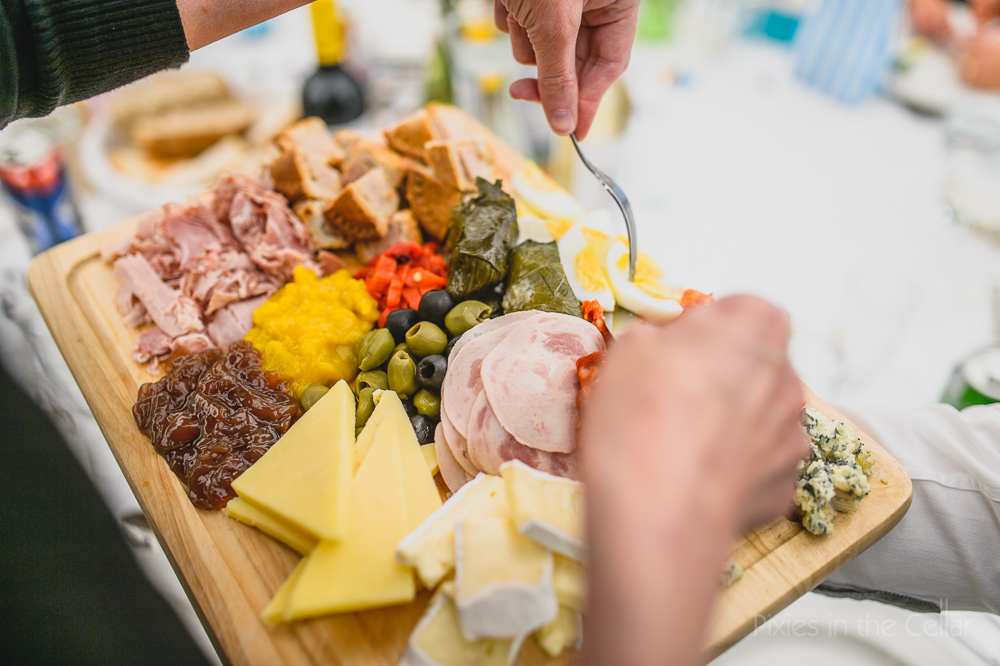 wedding ploughmans
