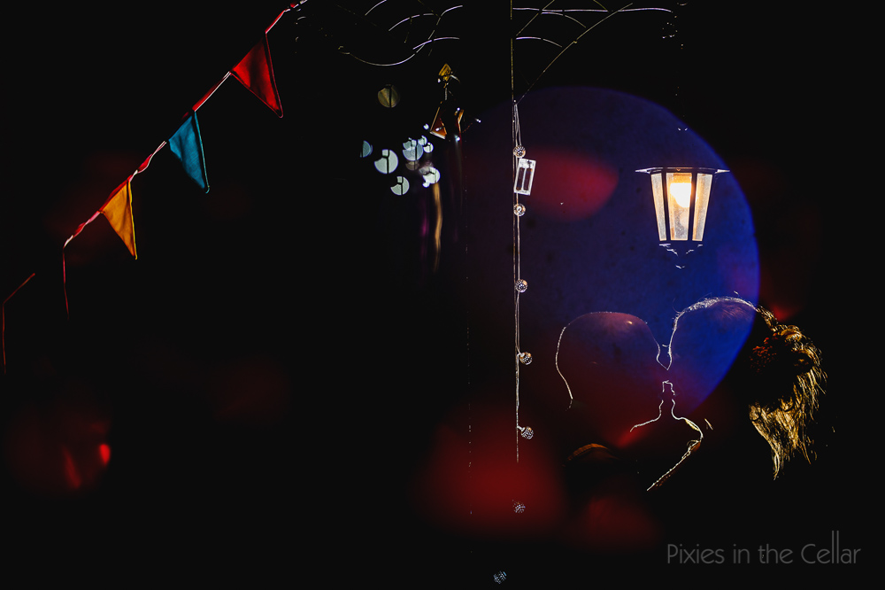 colourful wedding photography dark