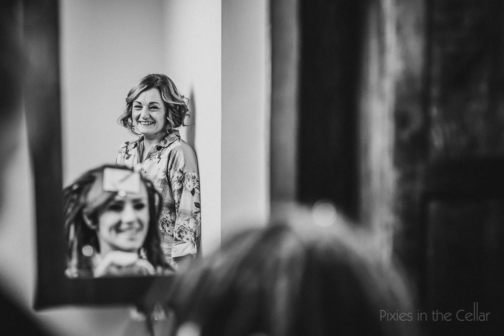 mother of bride pyjamas mirror bride