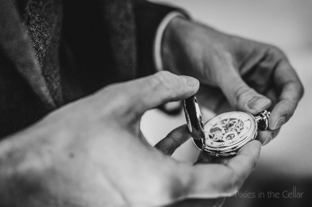 wedding pocket watch