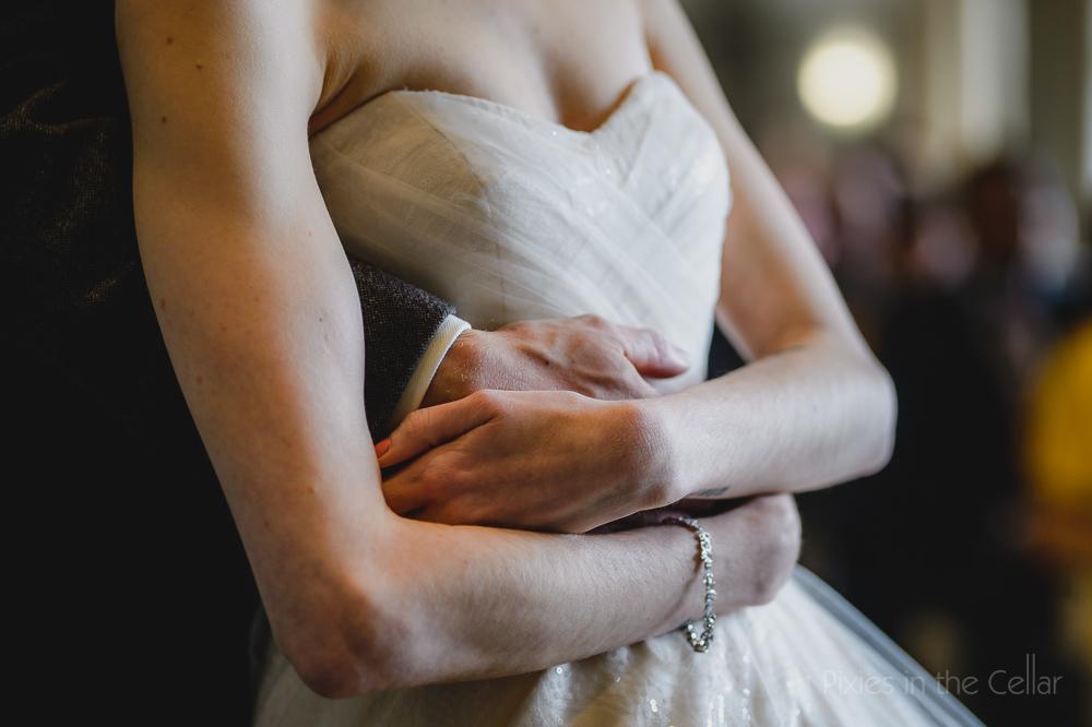 love hugs wedding