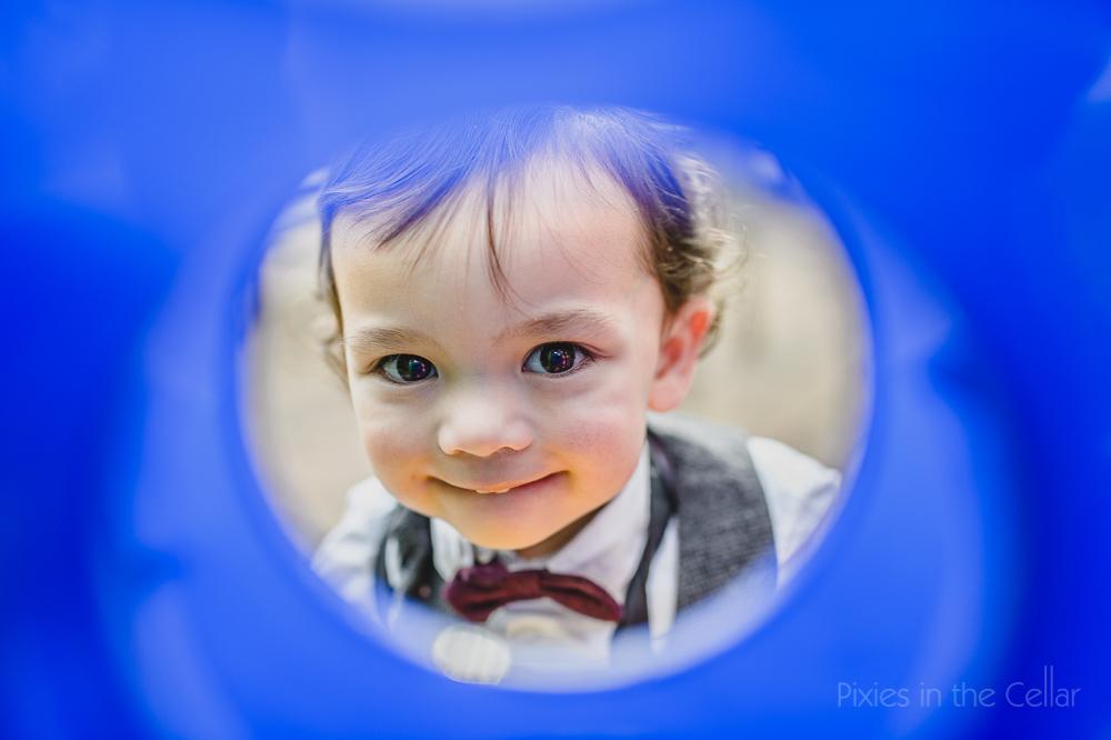 children at weddings blue