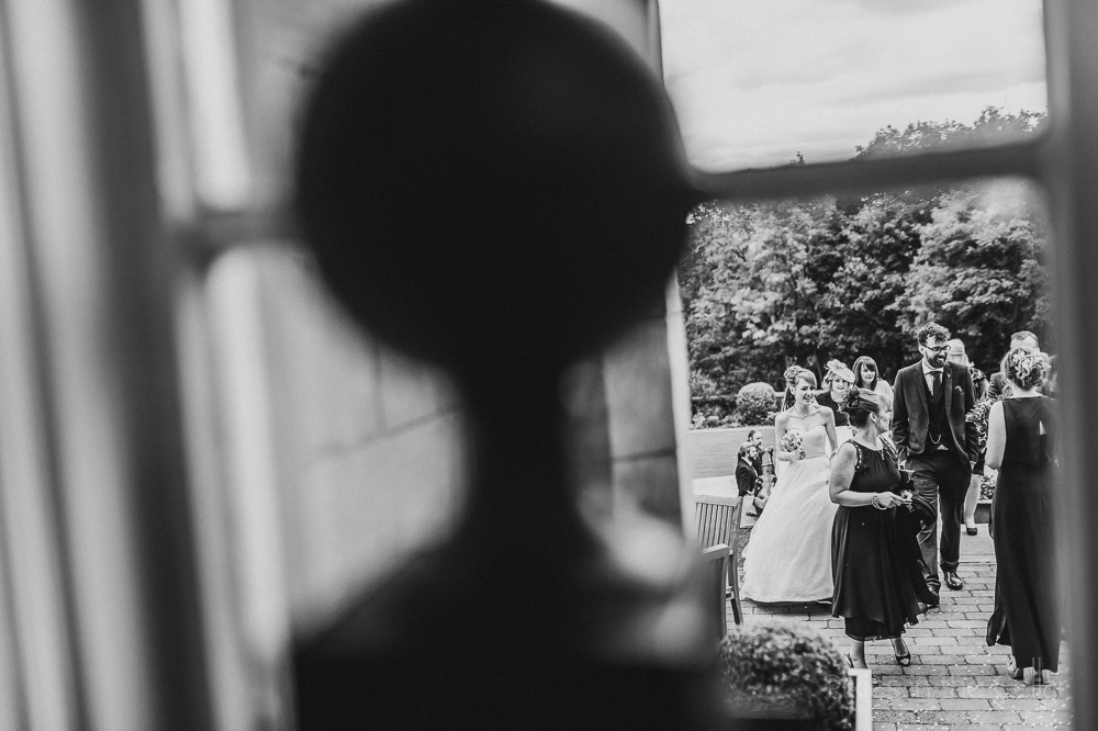 Woodlands wedding photography outdoor reception