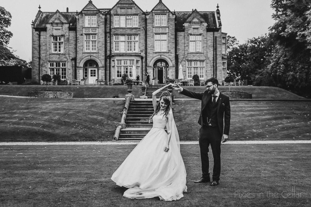Woodlands wedding photography dancing