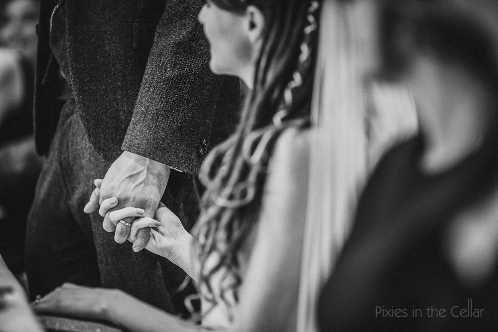 bride groom hands Manchester wedding photographers