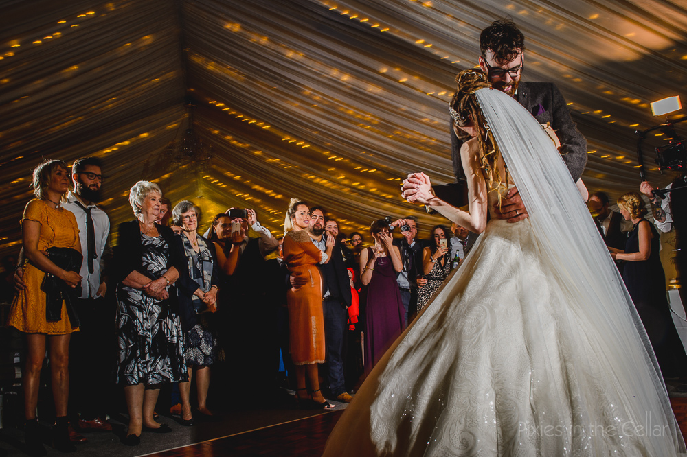 Woodlands wedding photography first dance